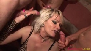 Horny Milf Mardi And Lots Of Mans