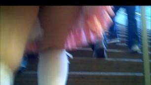 Fast Pink Cosplay Upskirt