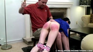Severe Otk Hairbrush Hard Spanking Punishment