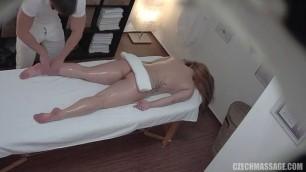 Sexy Girl Ayia Massaged