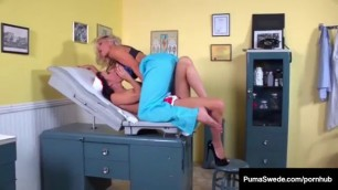 Horny Lesbian Tea Orgy Fun