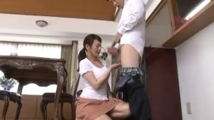 Asian Slut Xev Jerks Off Cock