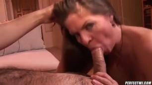 Super Hot Brunette With Huge Tit