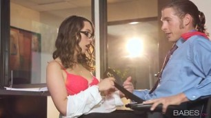 Jade Nile All sex Office Stockings Blowjob Big Dick