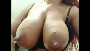 Web camera slut show her tits and pussy Part 4