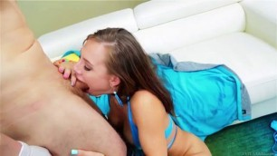 teens with big anal Aidra Fox spread her legs wide open so her lover could lick her pussy