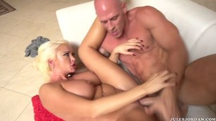 Summer Brielle squirts all over his dick