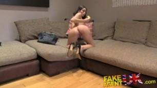 Fakeagentuk Cute Italian Valentina Bianco Takes A Fruity Anal Fucking On The Casting Couch