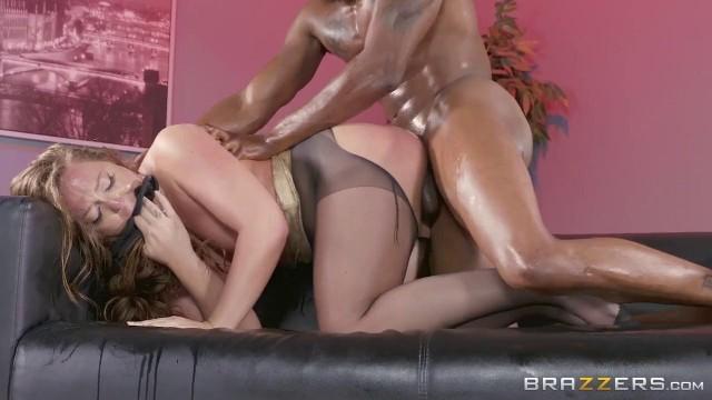 Interracial Oily Bang
