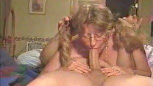 Fabulous Deep Throat By Old Wife