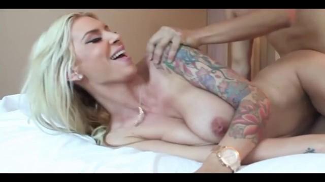 Luxurious Tattooed Milf Fucked In Bedroom - HookUpAdult