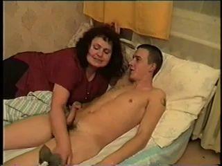 Fat Mom Ariella Bangs Young Son