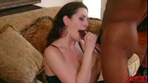Sarah Shevon Loves Them Big And Ebony