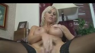 Busty Jan Burton Hairy Pussy Playing