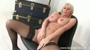 Jan Burton Masturbation Herself