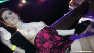 Lesbi girl and very big dick fucked all girl on the club part 1