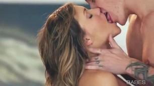 Sexy babe beautiful fucking with her boyfriend Love steam gentle sex