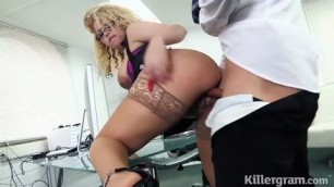 Cum Into My Office sex Aruba Jasmine New Girl in the Office 2015 HD